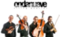Ondanueve Strng Quartet - Foto quartetto d'archi - Paolo Sasso Violino, Marco Pescosolido Violoncello Cello, Luigi Tufano Viola, Andrea Esposito Violin