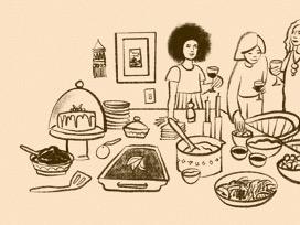 LADIES' HOME DINNERS