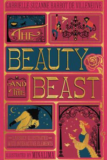 Beauty & the Beast (Illustrated with Interactive Elements)