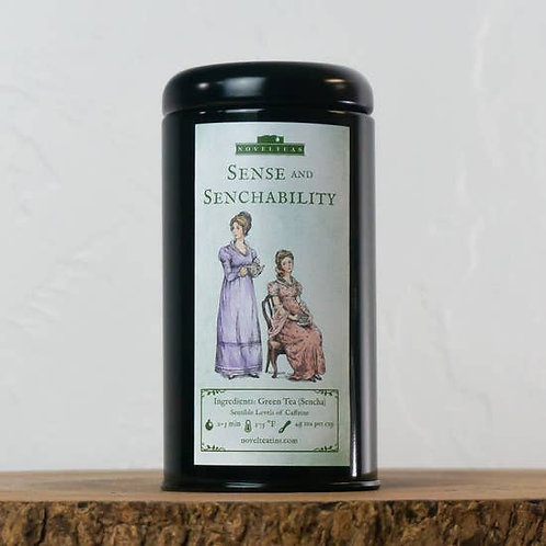 Sense and Senchability- Loose Tea Tin 2 oz.