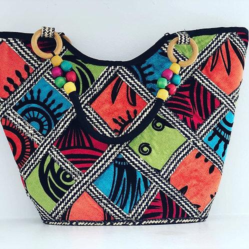 Exotic Fabric Hand Bag