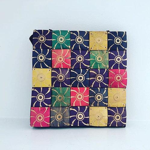 Colorful Wood Handbag