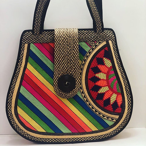 Tribal Straw bag