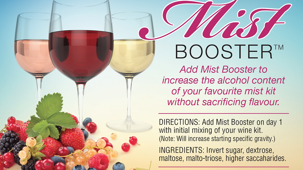 Fruit Wine Booster
