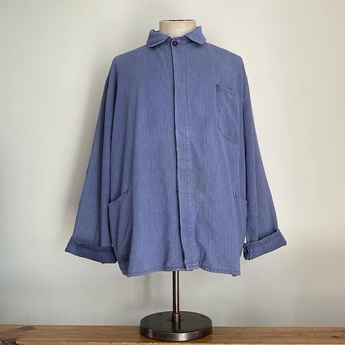 Vintage European Herringbone Workwear Jacket XL XXL