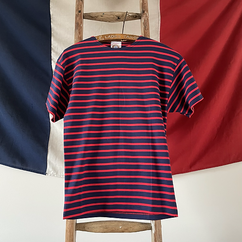 True Vintage French 1980s Armor Lux Breton Top S