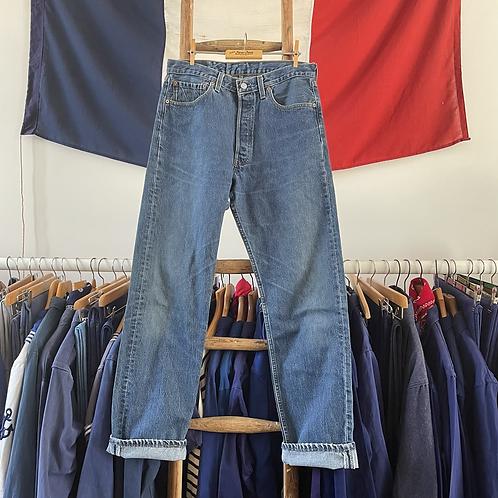 """True Vintage Levis 501 Denim Jeans W32"""" L32"""""""