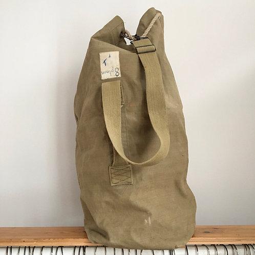 True Vintage French Military Kit Bag
