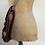 Thumbnail: True Vintage 1940s/50s Leather Satchel