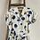 "Thumbnail: True Vintage 1940s/50s Australian Kay Dunhill Novelty Print Dress UK12 W30"""