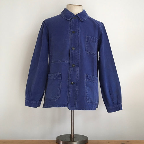 Vintage French 1950s/60s Le Très Souple Workwear Jacket M