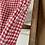 "Thumbnail: True Vintage 1950s Gingham Cotton Dress UK8 10 W28"""