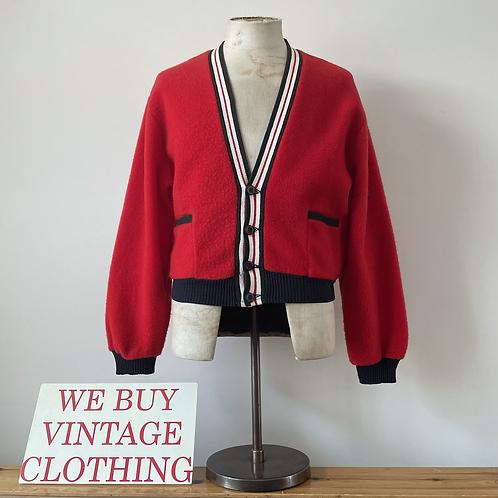 True Vintage USA 1950s 'Distinctive Sportswear' Cardigan S M