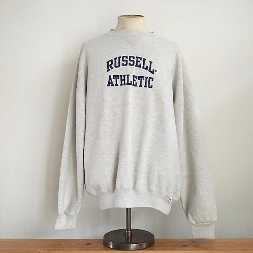 Vintage Russell Athletic Grey Marl Sweatshirt XLL