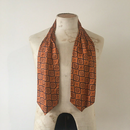 True Vintage 1960s Cravat