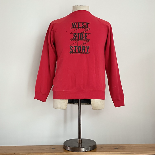 True Vintage 1970s/80s West Side Story/ Director Sweatshirt S M