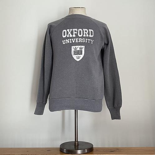 True Vintage 1980s USA Oxford University Sweatshirt S/M