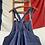Thumbnail: True Vintage 1940s Le Très Souple Bleu de Travail Workwear Dungarees M/ L