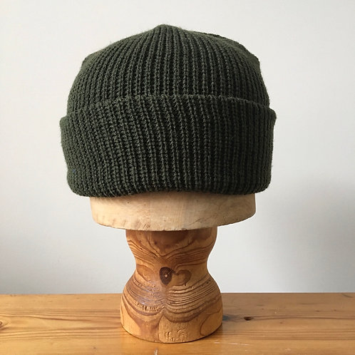 Military Ribbed Watch Cap
