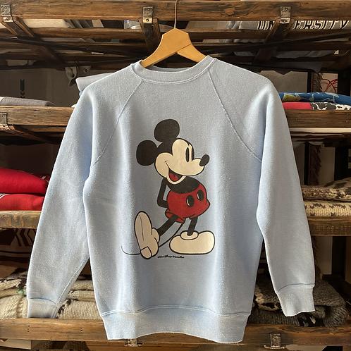 True Vintage 1980s USA Mickey Mouse Disney Sweatshirt XS/S