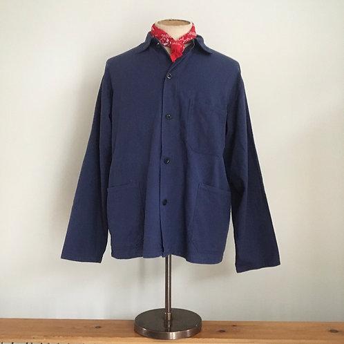 Vintage Cotton Workwear Chore Jacket L