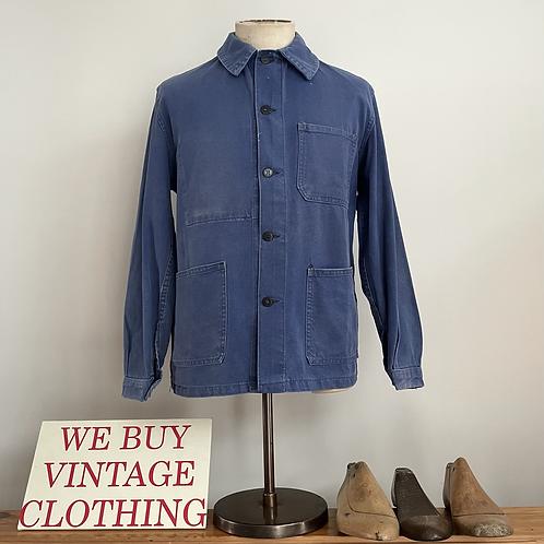 True Vintage 1950s French Workwear Jacket M