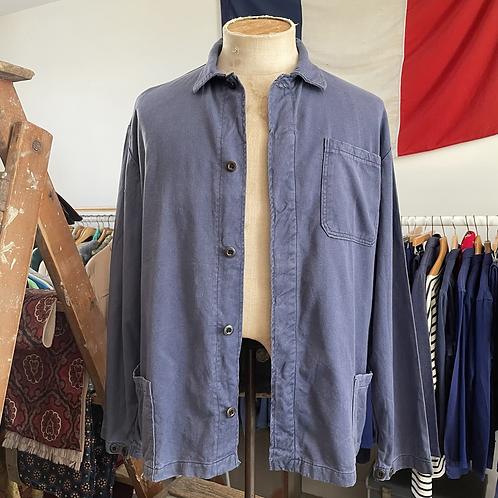 Vintage Slub Cotton Workwear Jacket L XL