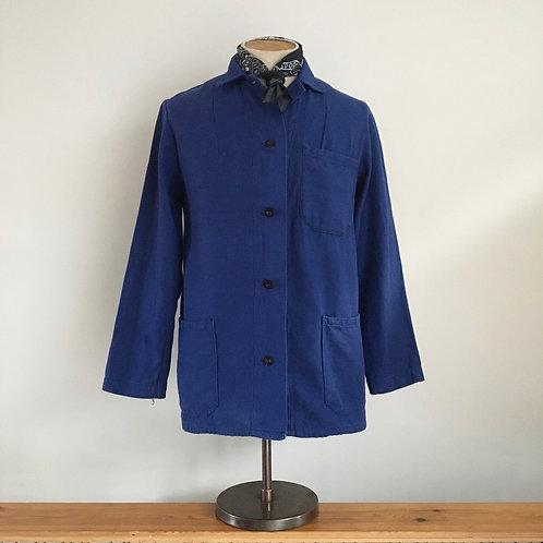 Vintage Cotton Twill Workwear Jacket S
