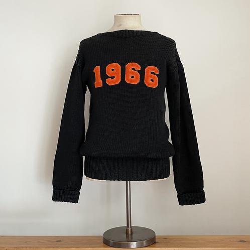 True Vintage USA 1960s Varsity 'Hanson' Wool Sweater M