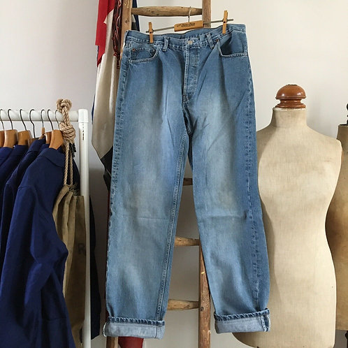"""True Vintage Levis 501 Denim Jeans W35"""" L34"""""""