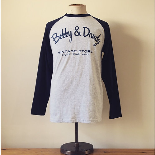 Bobby & Dandy Vintage Store Cotton Baseball Tee XL