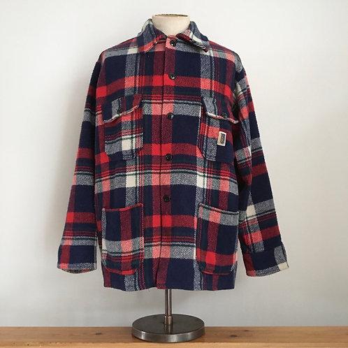 True Vintage Canadian 1960s/70s Regent Check Wool Jacket L XL