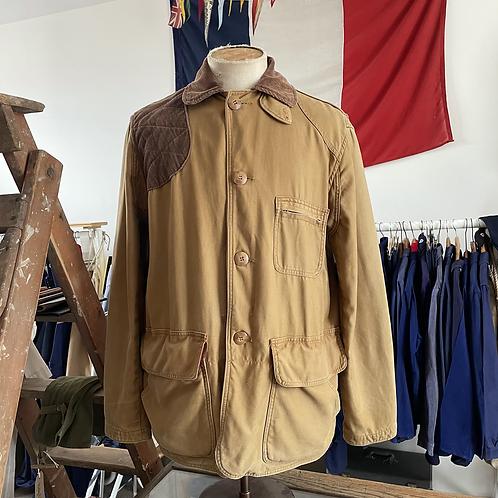 True Vintage USA 1950s Empire Duck Cotton Canvas Hunting Jacket