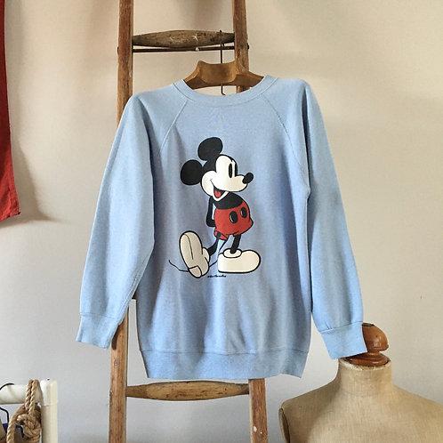True Vintage 1980s USA Mickey Mouse Sweatshirt XS/ S