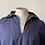 Thumbnail: Vintage Cornish Indigo Workwear Popover Smock XL XXL