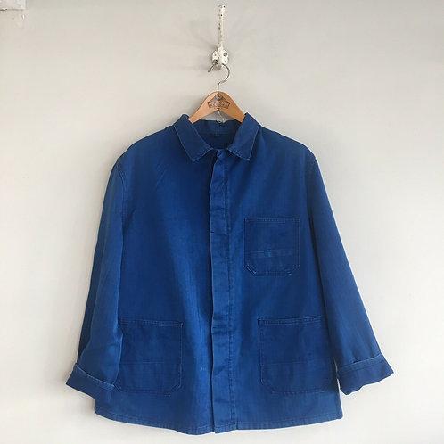 Vintage French Workwear Jacket M/ M-L