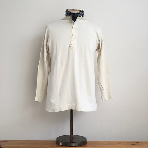 Original 1940s French Henley Top M