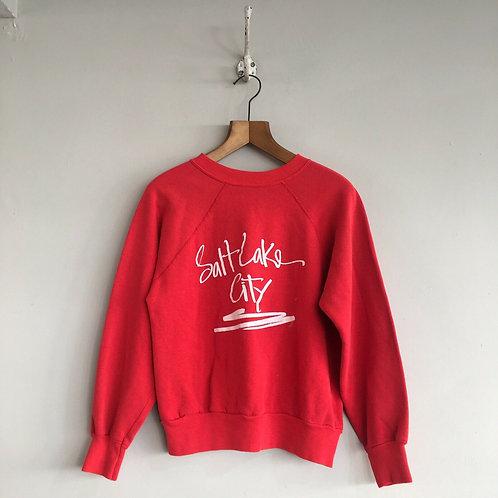 True Vintage USA Salt Lake City Sweatshirt S