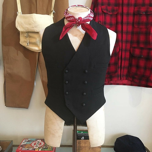 Vintage Cinch Back Waistcoat Kevin Rowland/ Dexys Memorabilia S