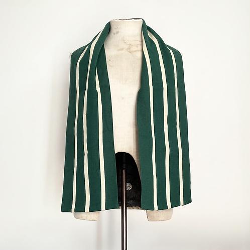True Vintage 1960s Striped Wool Varsity College Scarf