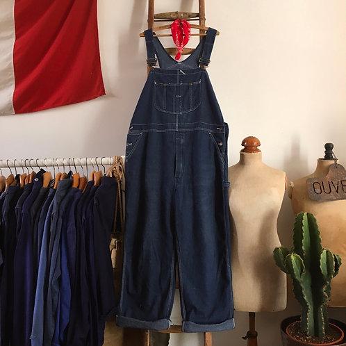 True Vintage USA Sears Roebuck Denim Workwear Dungarees L/XL