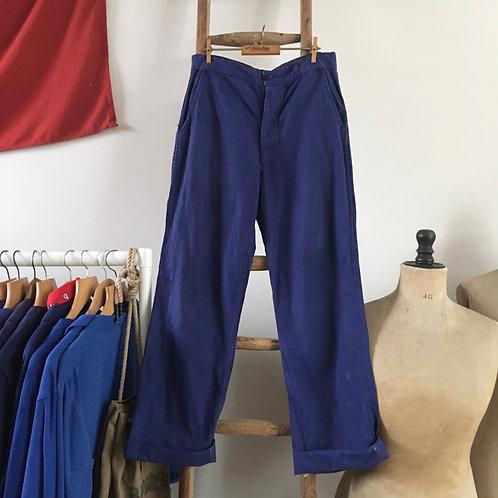 "True Vintage French Workwear Trousers W30"""