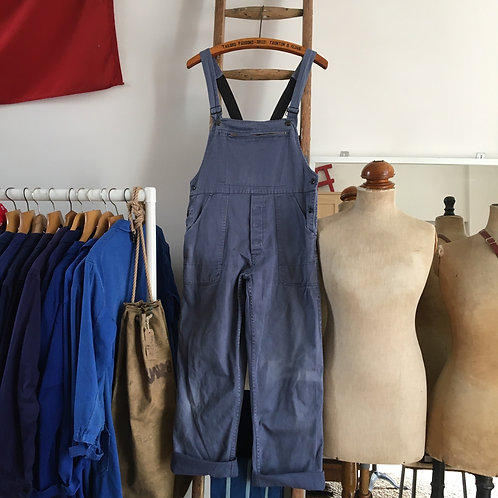 True Vintage Workwear Faded Dungarees S