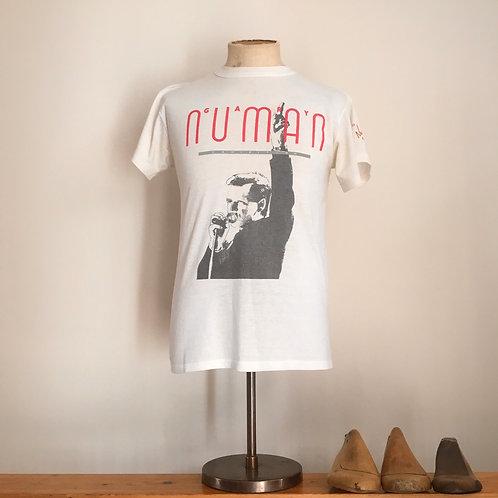True Vintage Gary Numan Tour Limited 1987 Edition Tee- Shirt M Rare!