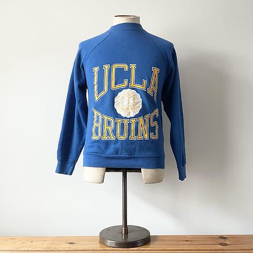 True Vintage 1980s USA University of California LA Sweatshirt S
