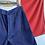 """Thumbnail: True Vintage Indigo Cotton Military/ Workwear Shorts W28"""" 30"""""""