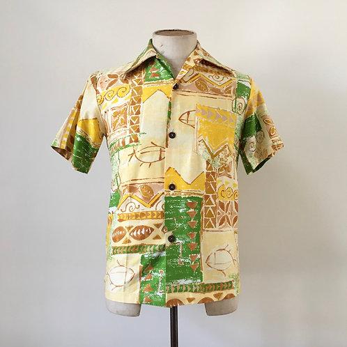 Vintage 1960s USA 'Catalina' California Shirt S