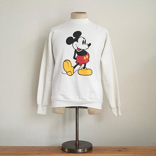 True Vintage 1980s USA Mickey Mouse Sweatshirt M