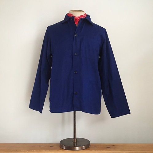 Vintage Vietnamese Cotton Workwear Chore Jacket S- M