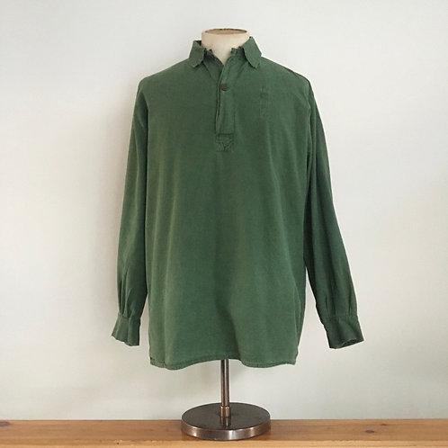 Vintage Swedish Military Smock Shirt M L